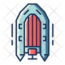 Inflatable Boat Boat Ship Icon