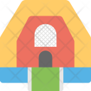 Inflatable Bounce House Icon