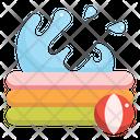 Inflatable Pool Baby Icon