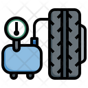 Inflate Tire Icon