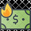 Inflation Money Value Icon