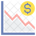 Inflation Drawn Financial Graph Icon