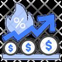 Inflation Economy Price Icon