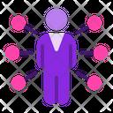 Influencer Man Businessman Icon