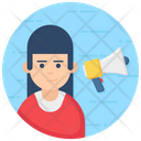 Motivation Influencer Marketer Icon