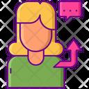 Influencer Outreach Blogger Marketing Icon