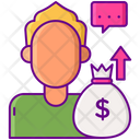 Influencer Sponsorship Influencer Money Icon