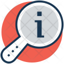 Info Magnifier Information Icon