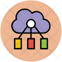 Info Sharing Cloud Icon