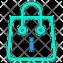 Bag Info Shopping Icon