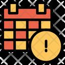 Info Calendar Icon