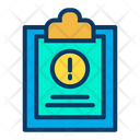 Information Clipboard Document Icon