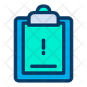 Info Information Clipboard Icon