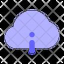 Info Cloud Information Cloud Information About Cloud Icon