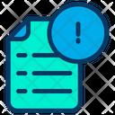 Info Document Icon