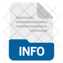 Info File Format Icon