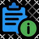 Info File Information File Info Icon