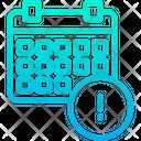 Info Schedule Icon