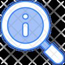 Info Information Lense Icon