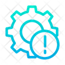 Info Cog Gear Icon