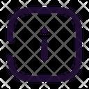 Info Square Icon