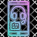 Info Support Call Customer Service Icon
