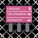 Info Traffic Board Icon