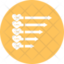 Growth Bar Graph Icon