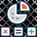 Pie Graph Estimated Icon