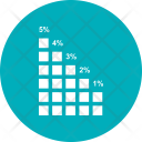 Growth Bar Infographic Icon