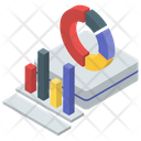 Statistics Analytics Business Monitoring Icon