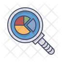 Infographic Magnifier Search Icon