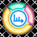 Pie Chart Color Icon