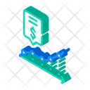 Financial Infographic Isometric Icon