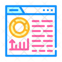 Infographic Seo Optimization Icon