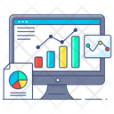 Data Visual Representation Infographic Analytical Infographic Icon