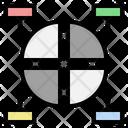 Infographic Pie Chart Data Icon