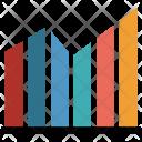 Bar Infographic Analytics Icon