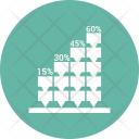 Bar Chart Forty Icon