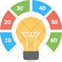 Light Bulb Infographic Icon