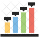Bar Graph Growth Icon