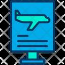 Flight Info Flight Information Airplane Info Icon