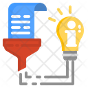 Information Data Analytics Icon
