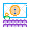 Lector Information Blackboard Icon