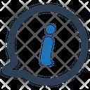 Circular Speech Bubble Circle Icon