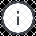 Information Info Help Icon