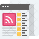 Information Media Newsspaper Icon
