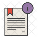 Information Info Certificate Icon