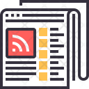 Information News Paper Icon