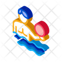 Man Volleyball Water Icon